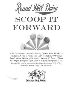 Round Hill Dairy-Scoop It Forward @ Round Hill Dairy
